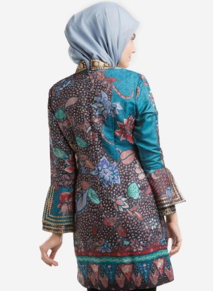 150 Model Baju Batik Wanita Modern Terbaru 2020