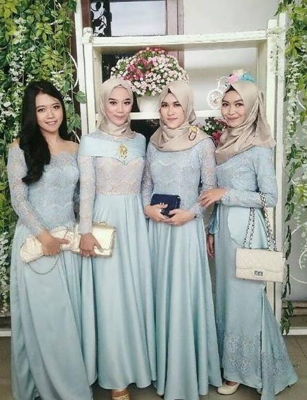 Model Baju Kebaya Muslim Modern Terbaru Galeri Jilbab